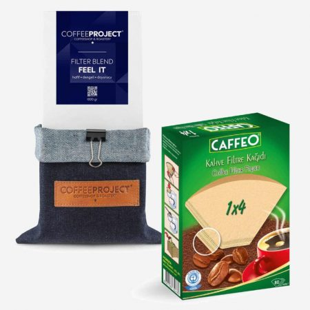 Coffee Project filtre kahve seti
